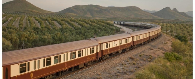Andrew Forbes Luxury Al Andalus Train 2