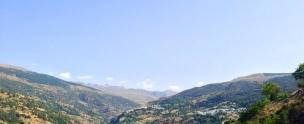 Capileira Las Alpujarras Road