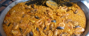 Paella Playa Burriana Nerja
