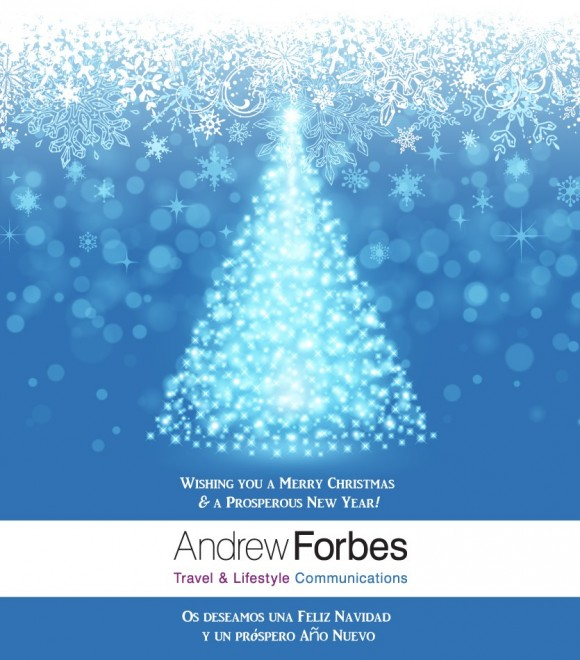 Andrew Forbes Travel Communications Consultant Merry Christmas