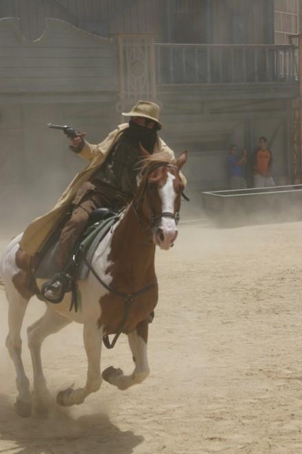 Action at Studios in Tabernas desert