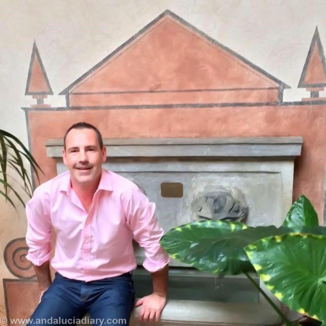 Andrew Forbes at Casa 1800 Granada
