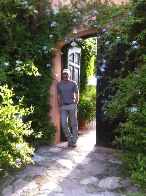 Andrew Forbes leaving El Nobo to hike Mr Henderson's Railway