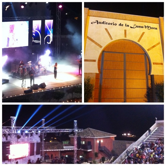 Auditorio de la Luna Mora Guaro amphitheatre