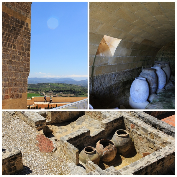 Bodegas in Fortress of Alcala la real
