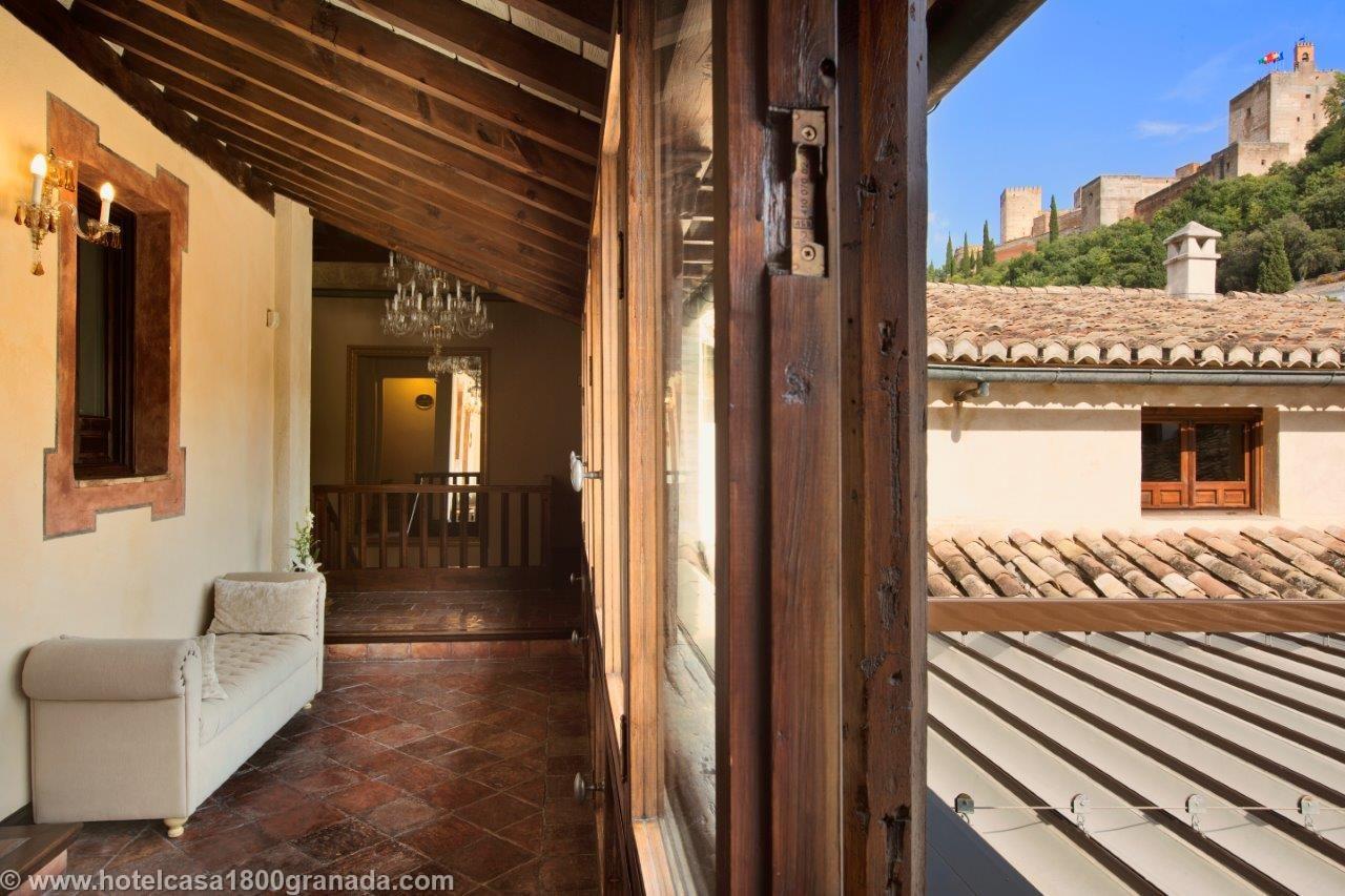 Hotel casa 1800 granada luxurytravelpursuits andalucia for Best boutique hotels granada