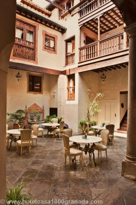 Boutique Hotel Casa 1800 Granada Andalucia (7)