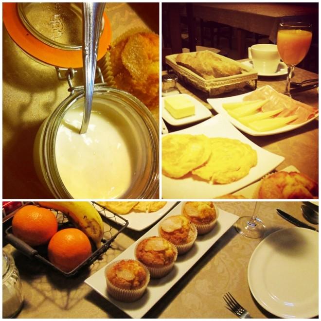 Breakfast at the Rectoral de Goian