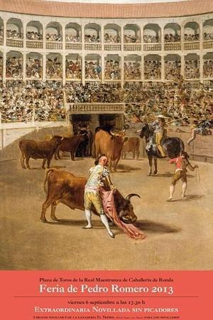 Bullfighting Ronda Feria Pedro Romero 2013