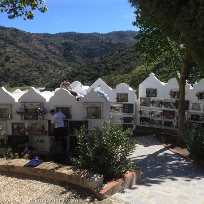 Cementerio San Sebastian Casabermeja A Forbes Andalucia Diary  (2)