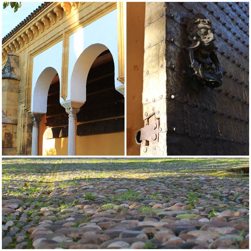 Cordoba Mosque courtyard