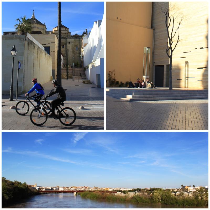 Cordoba's renovated riverside walkways