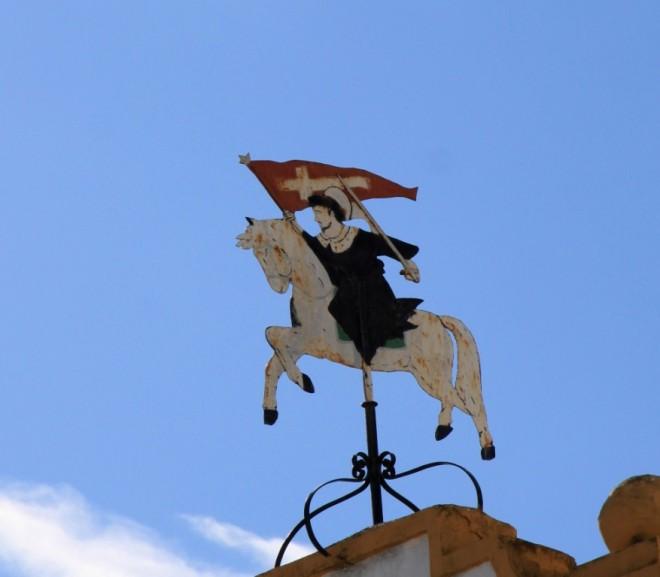 Santiago Matamoros, St James Crusader Alozaina