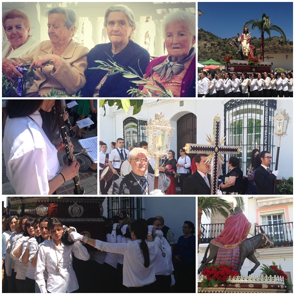 Easter in Yunquera