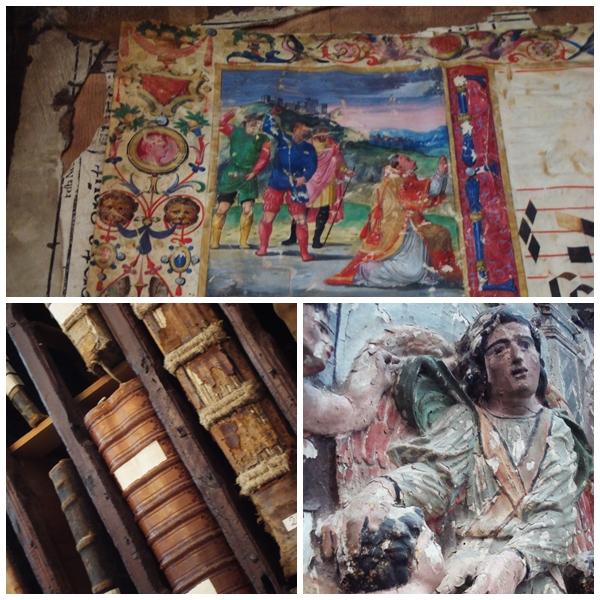 Ecclesiastical artefacts Baeza, Jaen Province