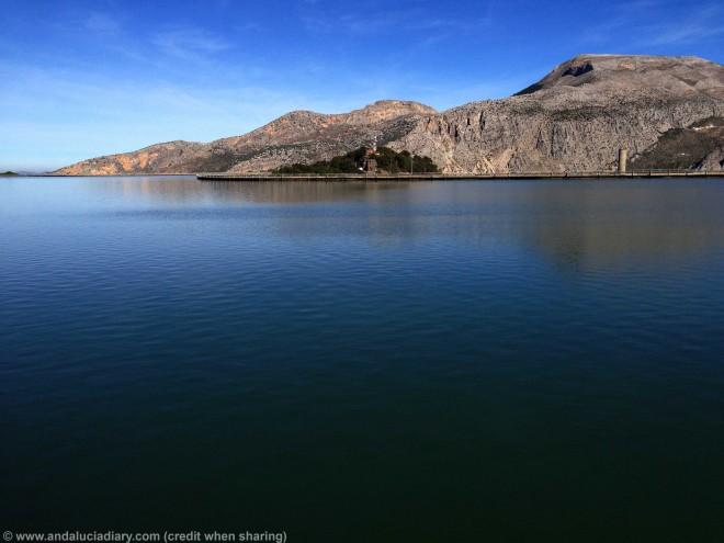 El Chorro Hydro electric Reservoir Andalucia Diary