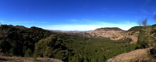 El Chorro Malaga Scenic Panorama Andalucia Diary