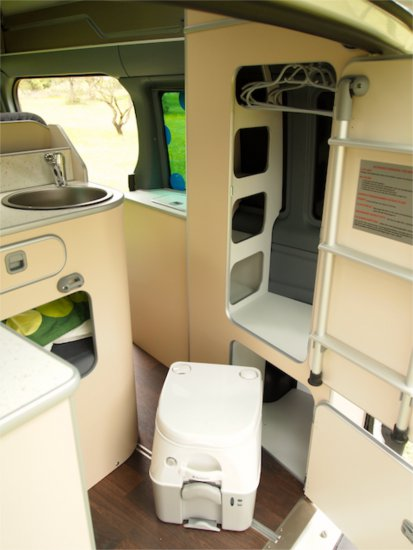 Fitted out bt Westfalia Pepa Flamenco Campers