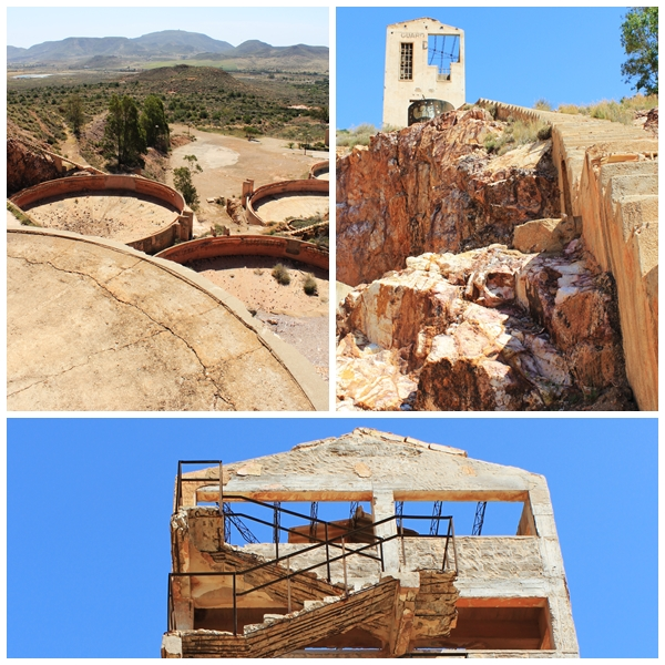 Gold Mine ruin, Rodalquilar, Almeria, Andalucia