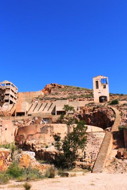 Gold Mine ruins, Rodalquilar, Almeria, Andalucia