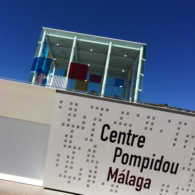 Andrew Forbes Centre Pompidou Malaga Andalucia Diary