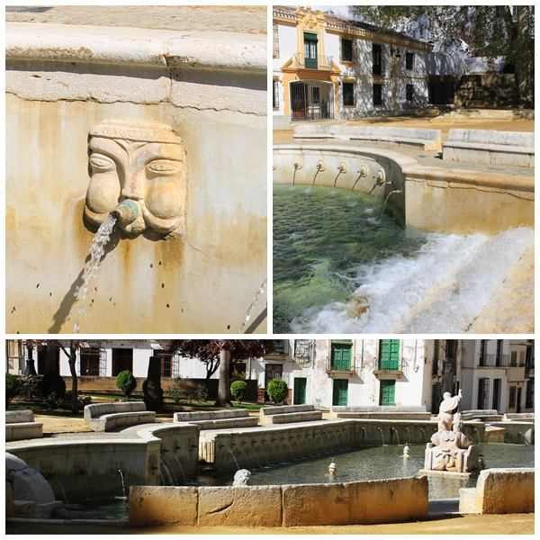 Kings Fountain Priego de Cordoba Andalucia