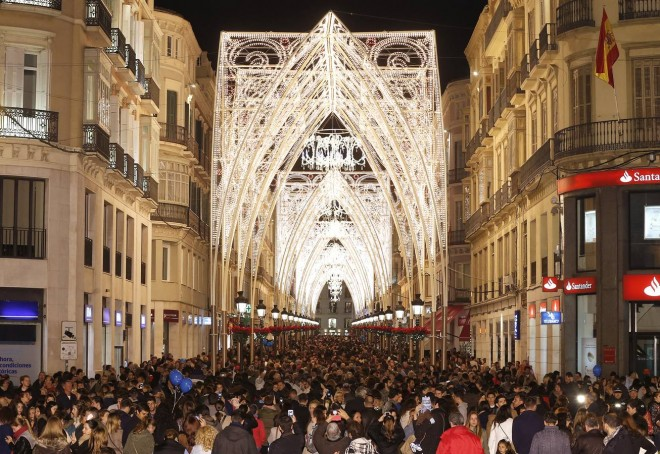 Festive cheer in Malaga Capital – the 2014 Christmas Lights are the best ever
