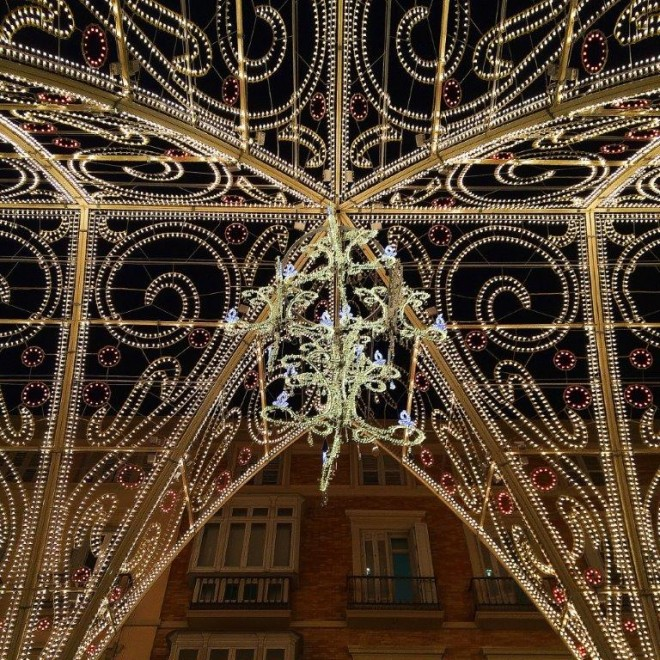 Malaga City Capital Chritmas Lights by Andrew Forbes (5)