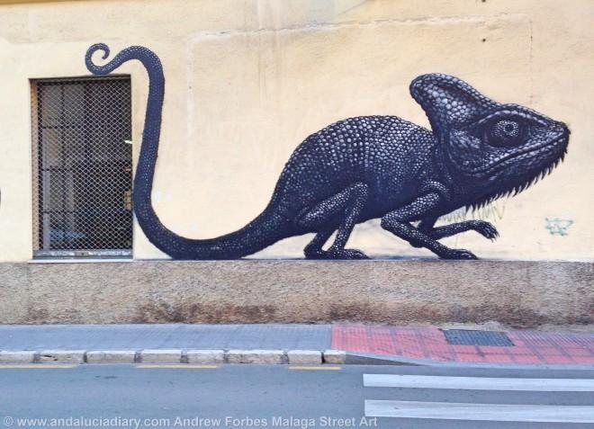 Malaga Urban Street Art Stencil Art Graffiti street installations andalucia diary andrew forbes (3)