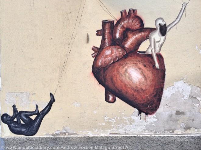 Malaga Urban Street Art Stencil Art Graffiti street installations andalucia diary andrew forbes (6)