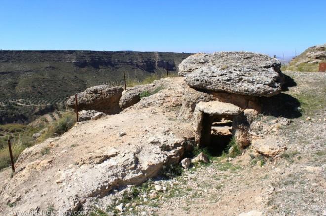 Megalithic route Guadix Granada Andalucia Diary (2)