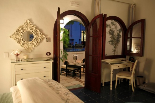 Our guest room at La Casa Noble