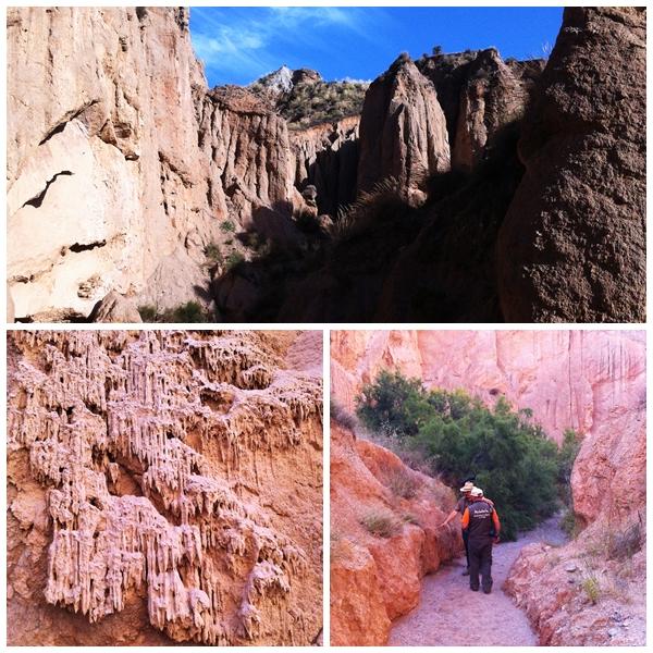 Rambla de los Yesos canyon hike andalucia diary