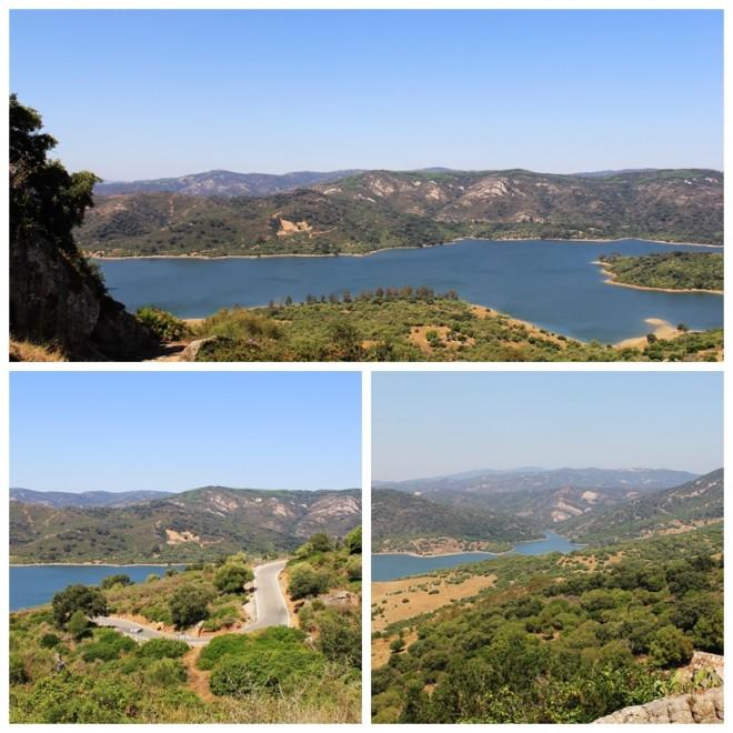 Reservoir Castellar de la Frontera, Cadiz, Andalucia