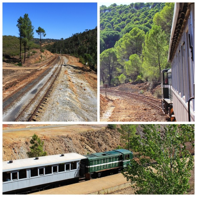 Rio Tinto Mine Railway Tour