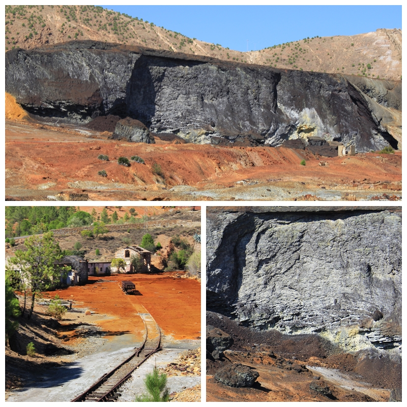 Rio Tinto Mine iron smelting slag