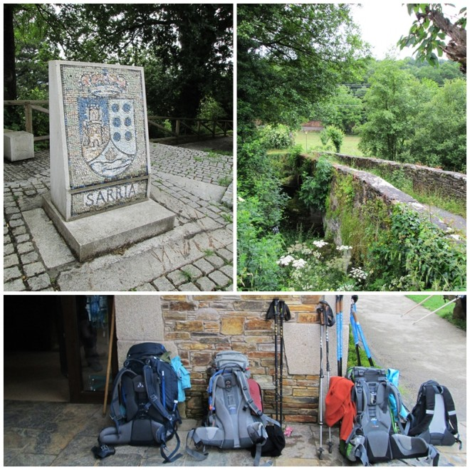 Sarria - stage one of our Camino de Santiago