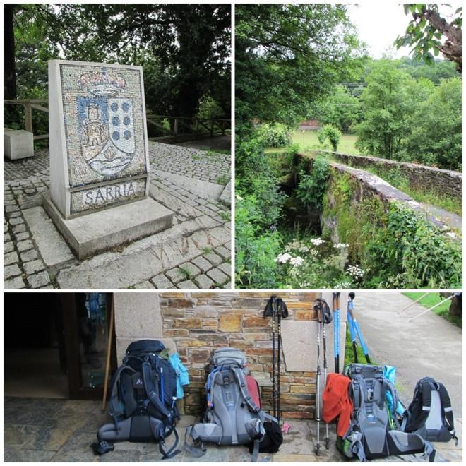 Sarria - stage one of our Camino de Santiago
