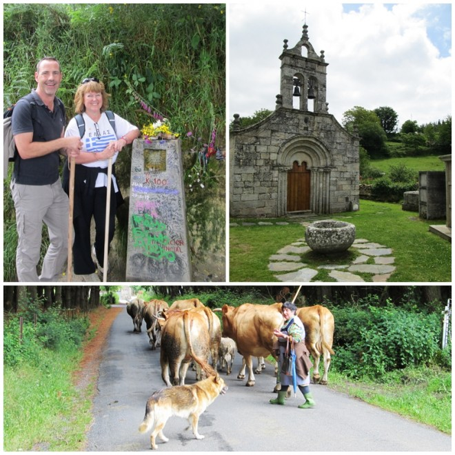 Sarria to Portomarin - stage one of our Camino de Santiago