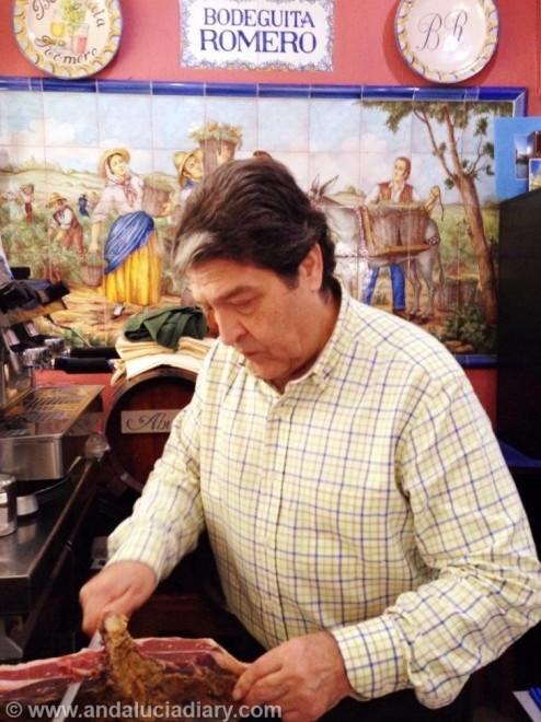 Tapas Tour in Seville Andalucia Diary  Bodeguito Romero