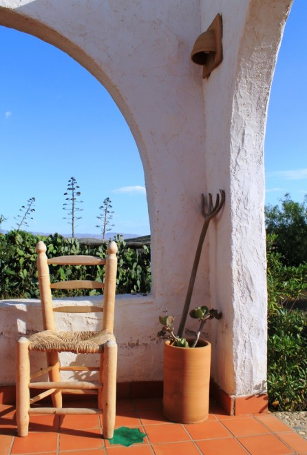 Terrace of Cortijo Rural Casa el Campillo