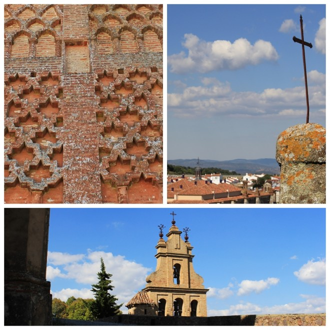 The ancient Prioral Church of Aracena