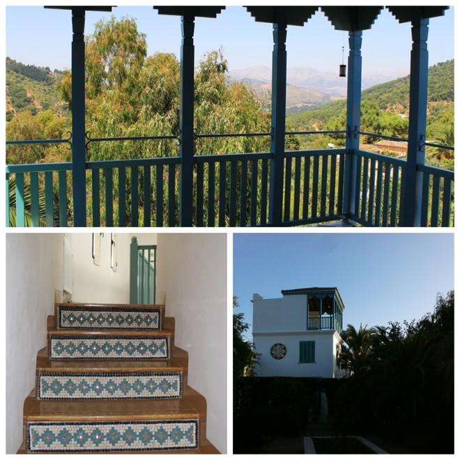 Top of Tower Terrace Casa Mosaica