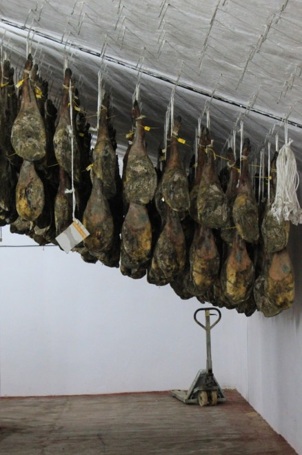 Traditional drying room andalucia diary