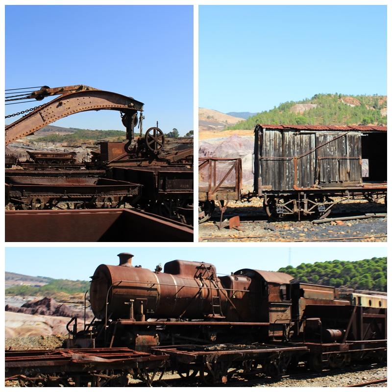 Train Graveyard Rio Tinto Huelva