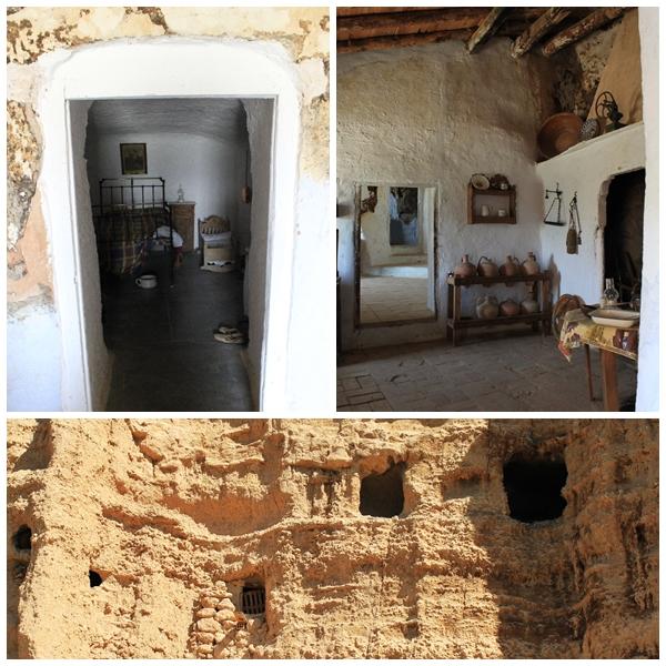Troglodyte cave houses Guadix