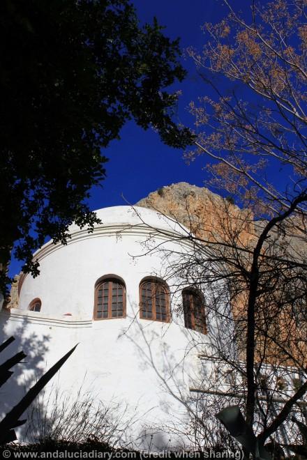 church in el chorro caminito de rey