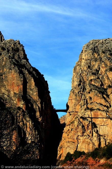 el chorro canyon gorge andalucia diary malaga lake district