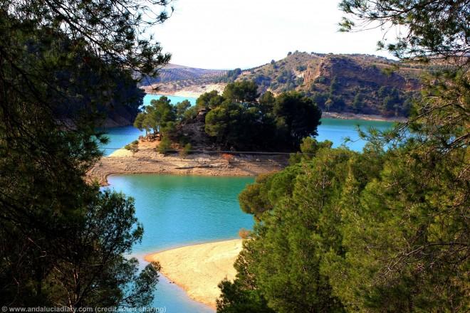 la isla el chorro Malaga andalucia diary