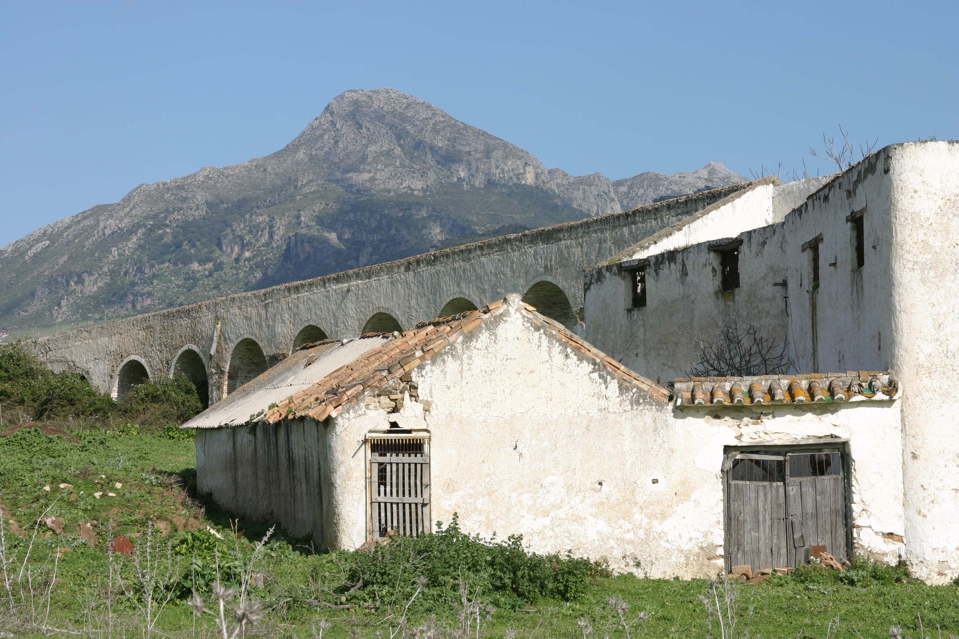 Derelict mill